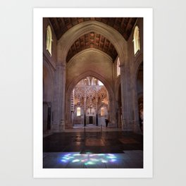 Conjoined Faiths 2 (Mosque-Cathedral of Cordoba) Art Print
