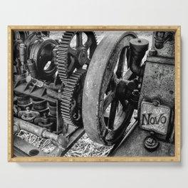 Novo Antique Gas Engine Serving Tray