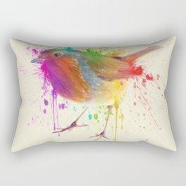 Bird Study Rectangular Pillow