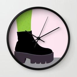 Cactus Leg Wall Clock