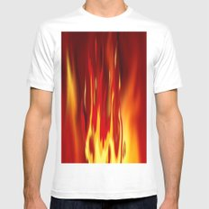 Into the fire 2. Mens Fitted Tee White MEDIUM