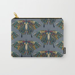 swallowtail butterfly indigo Carry-All Pouch
