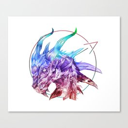 Spirt of the Dragon Canvas Print