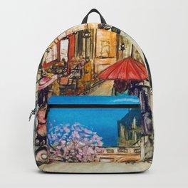 Lovers in Paris Backpack