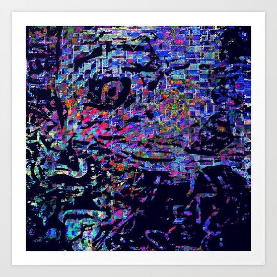 WANT U Art Print