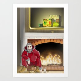 No.5 Christmas Series 1 - The Late Years Art Print