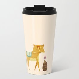 The Fox and the Hedgehog Travel Mug