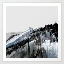 Tokyo in the Ice Age no. 7 Art Print
