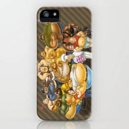 Grommr Guys iPhone Case