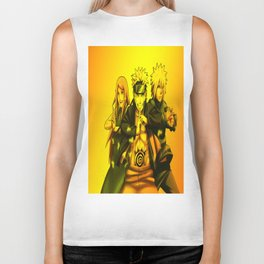 naruto and friends Biker Tank