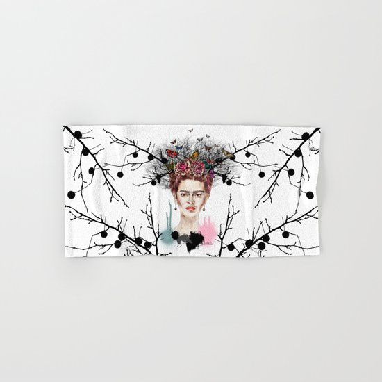 The Little Deer - Frida Kahlo Hand & Bath Towel