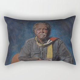 Guy Clark Rectangular Pillow