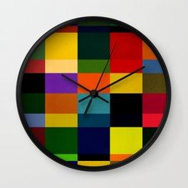 b51 - dark tone Wall Clock