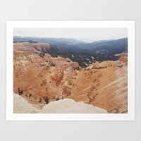Cedar Breaks Art Print