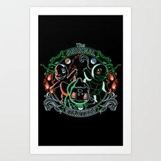 The Original Starters Art Print