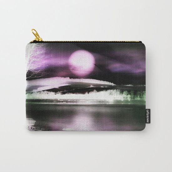 Moon night on the lake 2 Carry-All Pouch