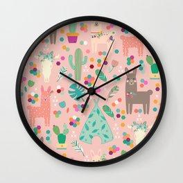 Lamas Wall Clock