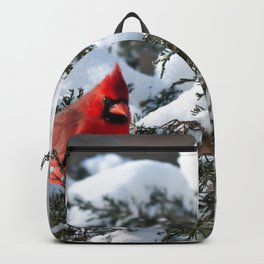 Snow for Breakfast (Cardinals) Backpack