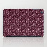 burgundy iPad Cases featuring Burgundy by Lisi Fkz
