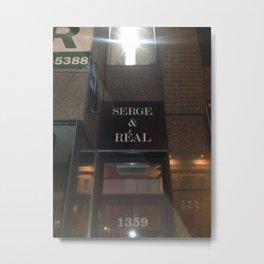Serge Is Real - 88 Light Metal Print