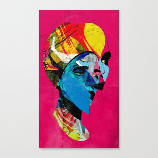 head_141113 Canvas Print