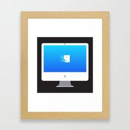 """iMac 24"""" Framed Art Print"""