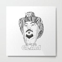 El Rey del Glam Metal Print