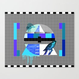 Waiting for the show to begin (Test Pattern 4) Canvas Print