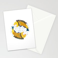 swimming circle Stationery Cards