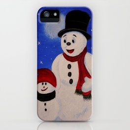 Hapy Holidays iPhone Case