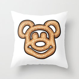Mickey Mouse Pretzel Throw Pillow