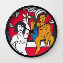 Fernand Leger Style Wall Clock