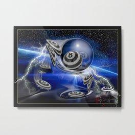 8's Flyby Metal Print
