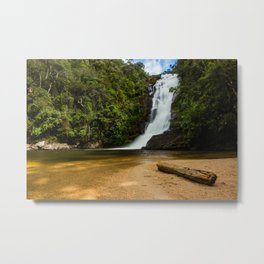 Waterfall of possessions Metal Print