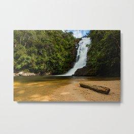 Waterfall of possessions Metal Print