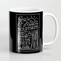 OVER THE MOUNTAINS (BW) Mug