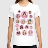 cartoons T-shirts featuring CartooNEY - Britney Spears Cartoons by Eduardo Sanches Morelli