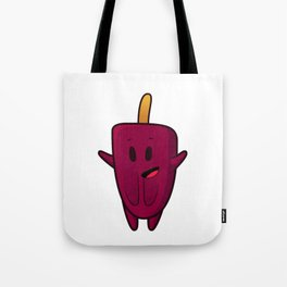 happy ice lolly Tote Bag