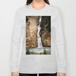 Tumbling from High Above into the Animas River Long Sleeve T-shirt