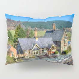 Carrog Railway Station Pillow Sham
