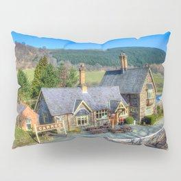 Carrog Railway Station Pillow Sham