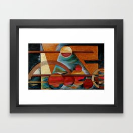 Geo # 7 Framed Art Print