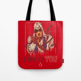 The Creed wants YOU Tote Bag