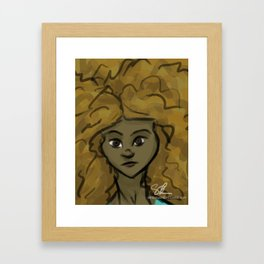 Hazel Framed Art Print