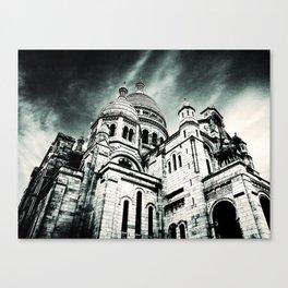 Sacré Cœur - Dark Canvas Print