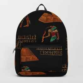 Ancient Secrets THOTH 3D Scifi Egyptian Backpack