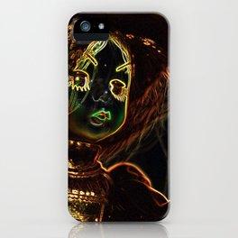 Neon Girl iPhone Case