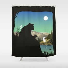 Out For Adventure Shower Curtain