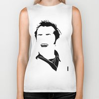 jack nicholson Biker Tanks featuring Faceless Nicholson by StayDry