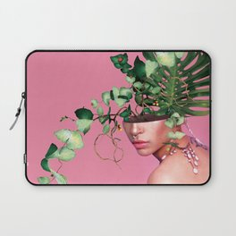 Lady Flowers VI Laptop Sleeve